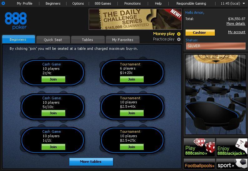 888 poker echeck viaggi roulette capodanno