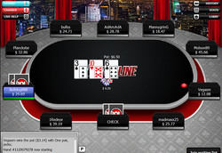 BetOnline Poker blackjack room