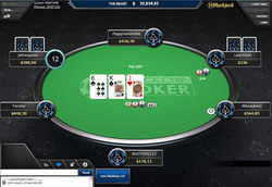 Black Chip Poker on a tablet device